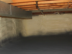 crawl space spray insulation for Wisconsin