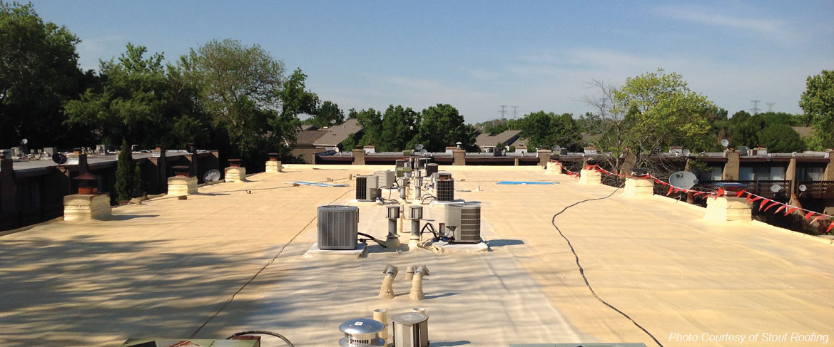 spray foam roofing systems for Wisconsin